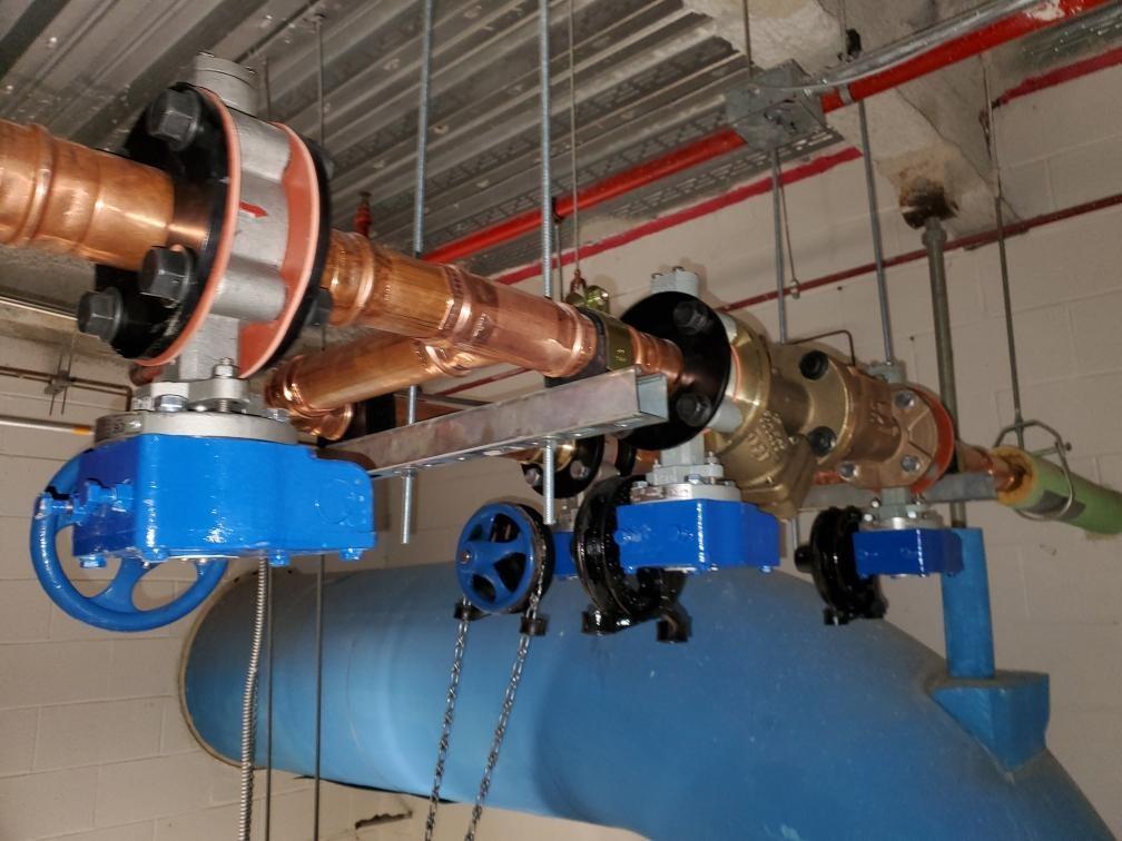 Boiler cut off valves